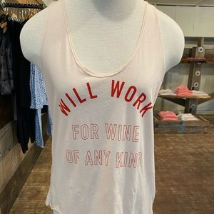 Work for it tank